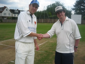 The Village Cricketer meets Cricket with Balls